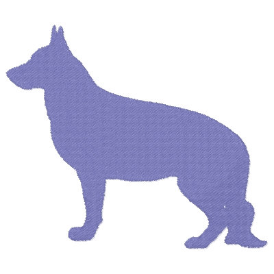 Silhouette Dogs 1-16