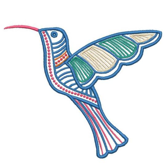 Satin Colorwork Hummingbirds-3