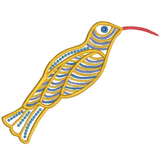 Satin Colorwork Hummingbirds-4