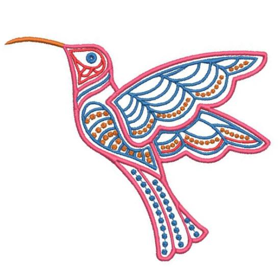 Satin Colorwork Hummingbirds-5