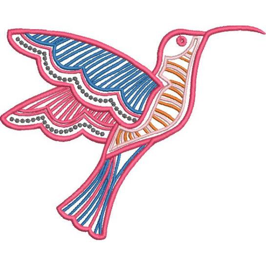 Satin Colorwork Hummingbirds-6