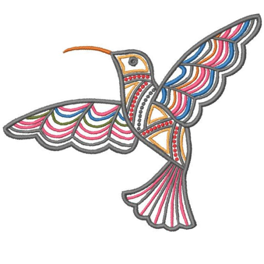 Satin Colorwork Hummingbirds-7