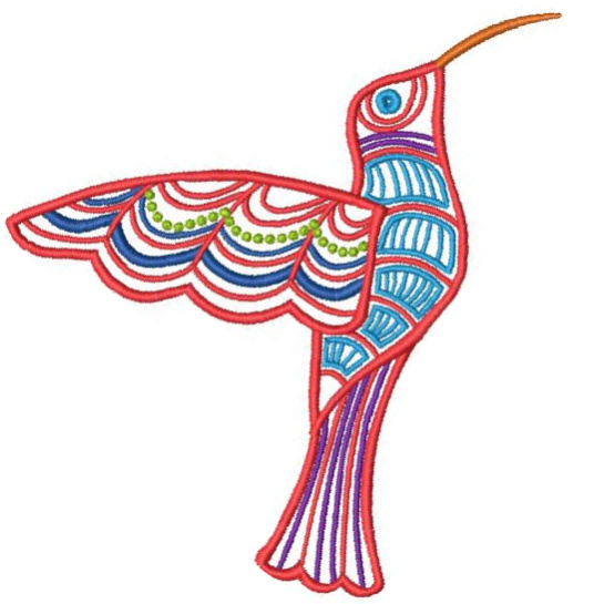 Satin Colorwork Hummingbirds-8