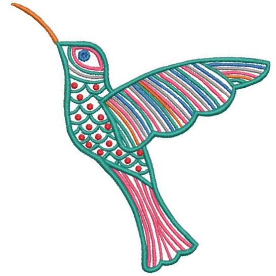Satin Colorwork Hummingbirds-9