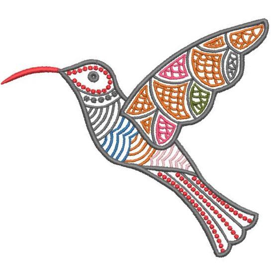 Satin Colorwork Hummingbirds-11