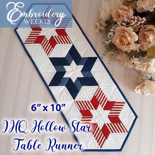 IHQ Hollow Star Table Runner-3