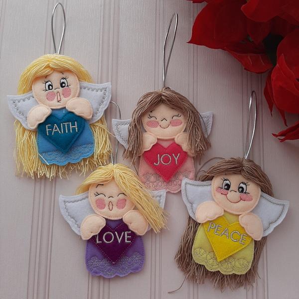 Angel Blessings Ornament-4