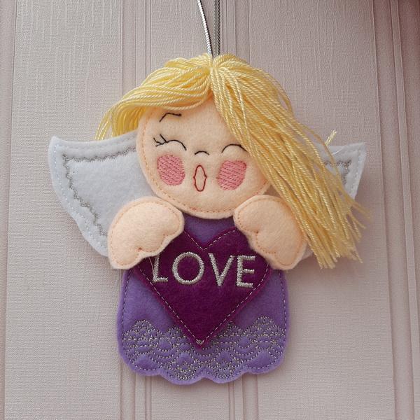 Angel Blessings Ornament-7