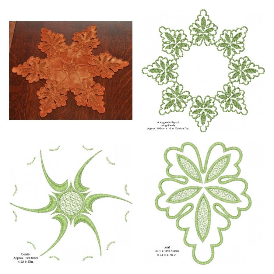 Oak Leaf Mat