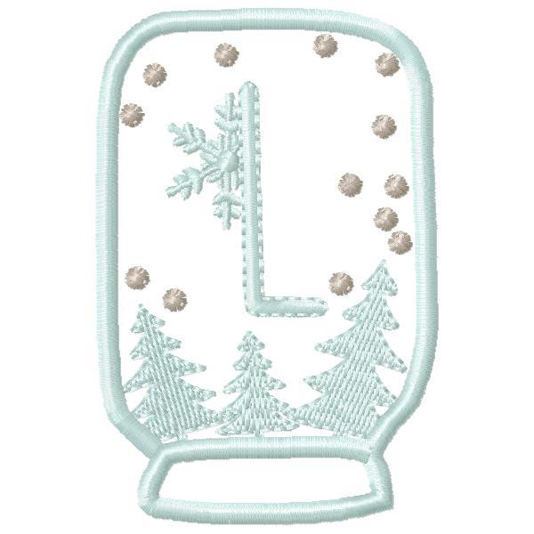 SnowGlobe Alphabet-14