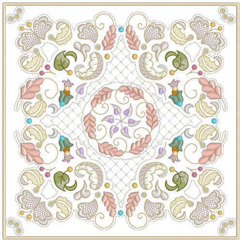 INTRO PRICED: Jacobean Sampler Quilt Blocks-3