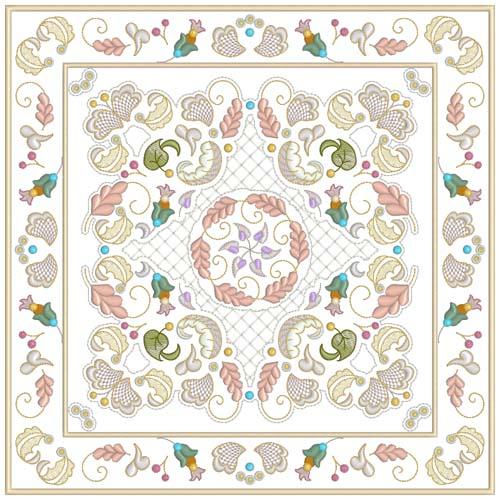 INTRO PRICED: Jacobean Sampler Quilt Blocks-10