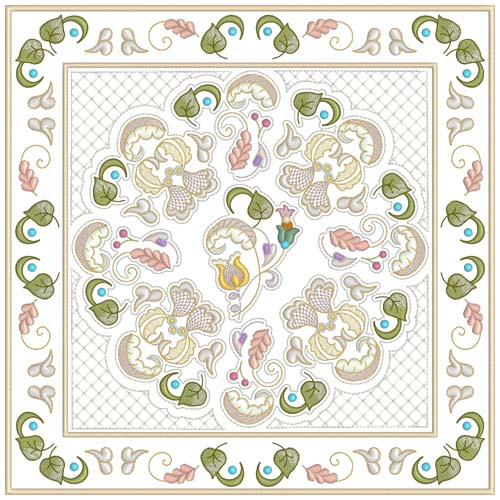 INTRO PRICED: Jacobean Sampler Quilt Blocks-14