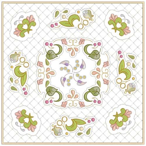 INTRO PRICED: Jacobean Sampler Quilt Blocks-23