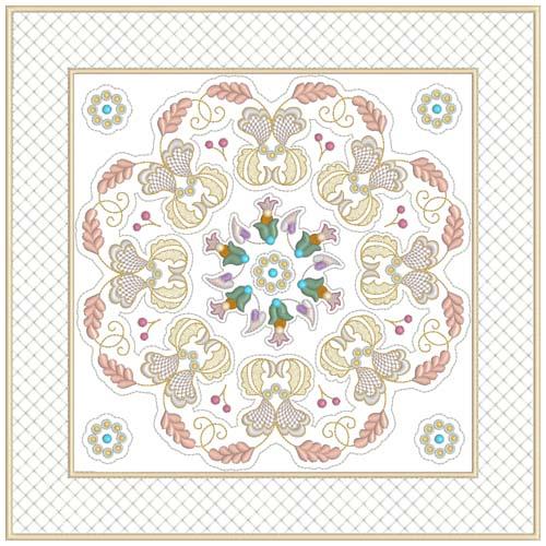 INTRO PRICED: Jacobean Sampler Quilt Blocks-26