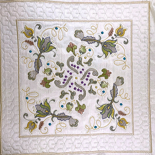 INTRO PRICED: Jacobean Sampler Quilt Blocks-64