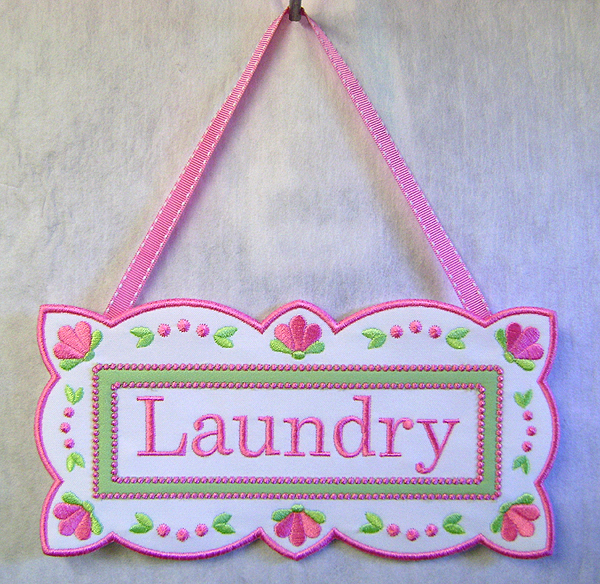 Laundry Wall Hanging