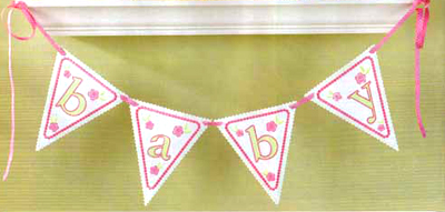 Baby Alphabet Pennants -3