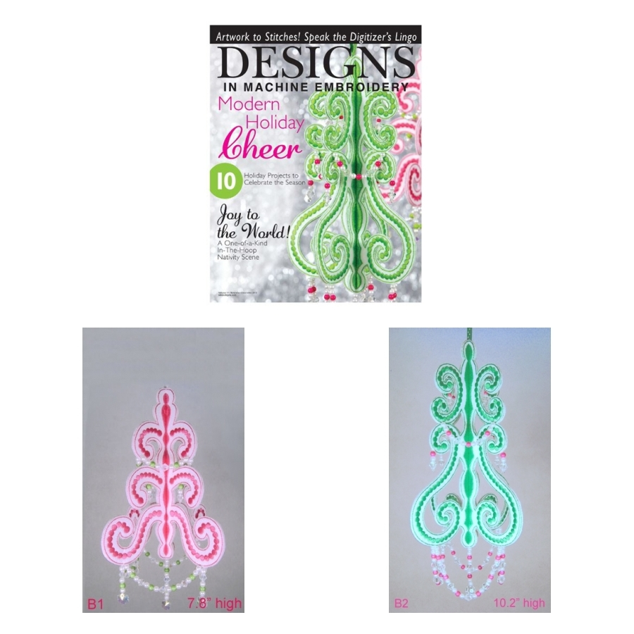 Chic Christmas Chandeliers
