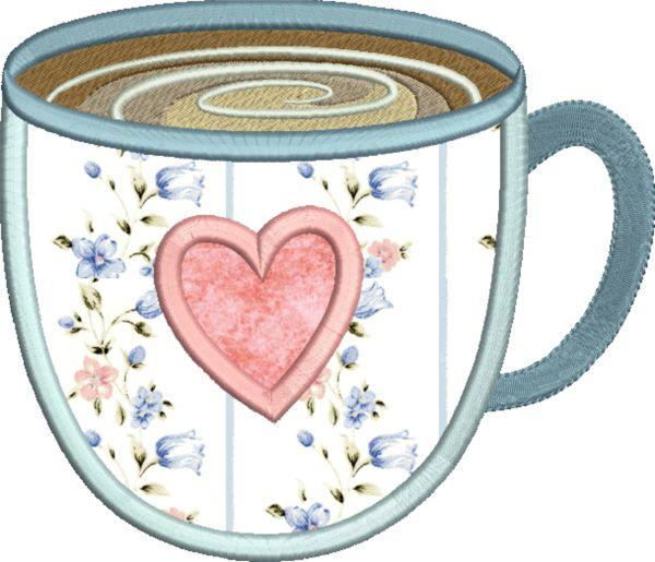 Coffee & Tea Applique -4