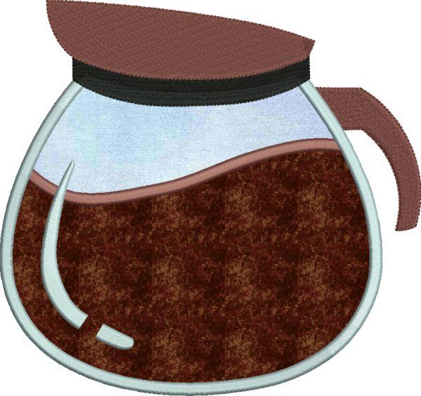 Coffee & Tea Applique -6
