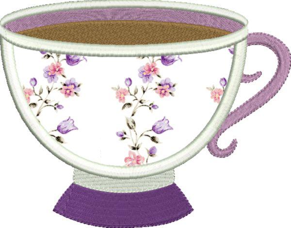 Coffee & Tea Applique -7