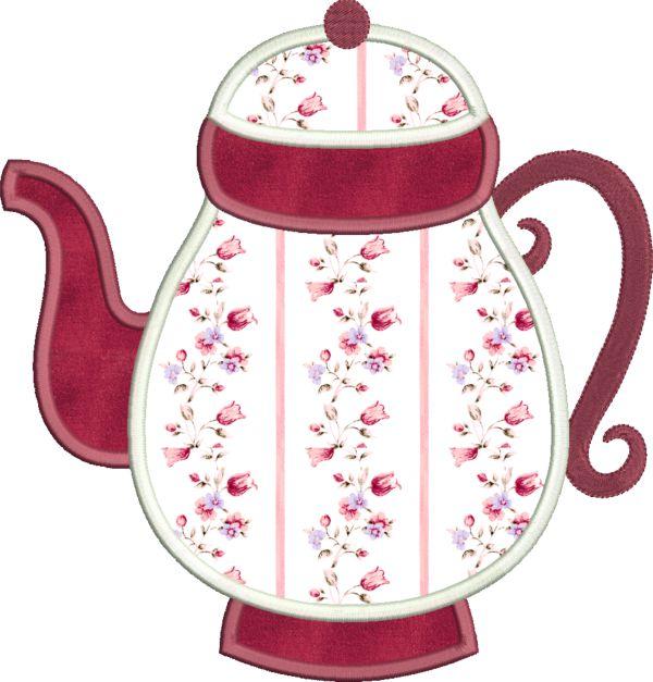 Coffee & Tea Applique -14