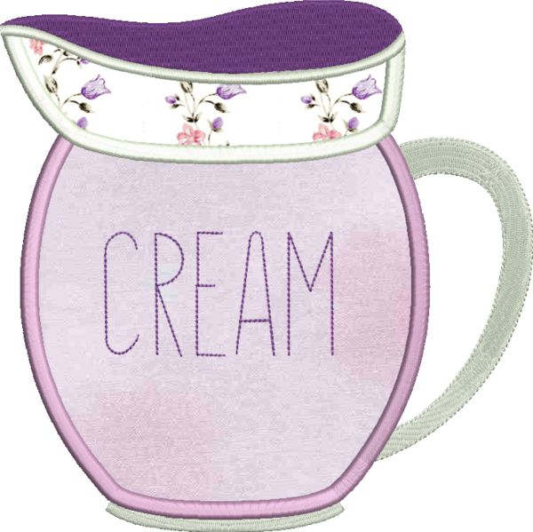 Coffee & Tea Applique -16