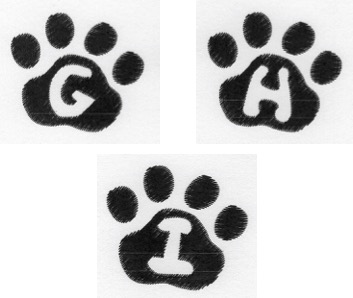 Cat Paw Trio GHI-3