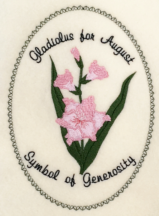 Flower of the Month: Gladiolus