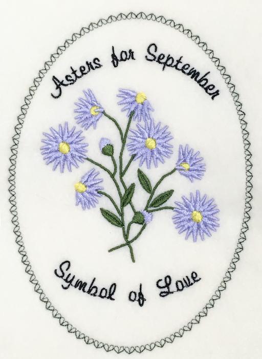 Flower of the Month: September