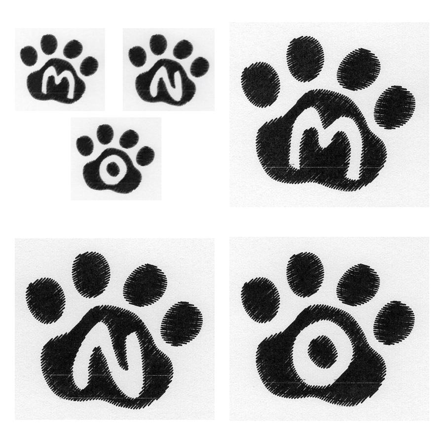 Cat Paw Trio MNO