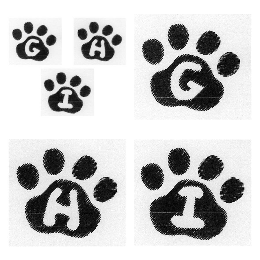 Cat Paw Trio GHI
