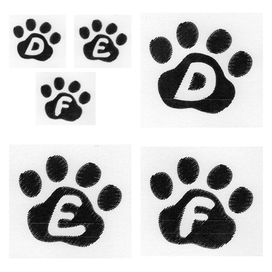 Cat Paw Trio  DEF