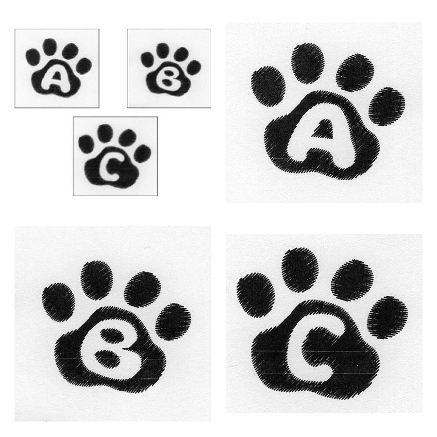 Cat Paw Trio ABC