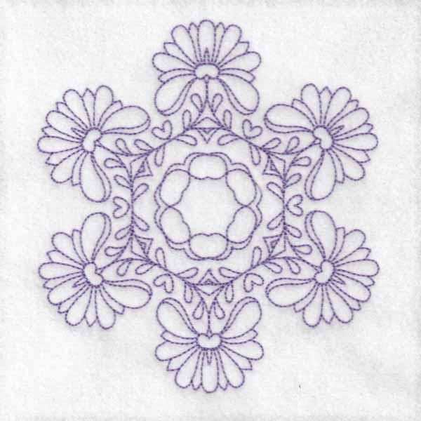Daisy Hexagon Blocks -3