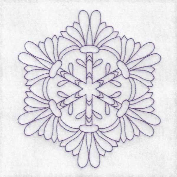Daisy Hexagon Blocks -4