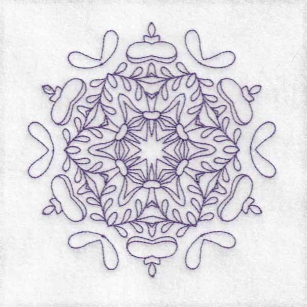 Daisy Hexagon Blocks -5