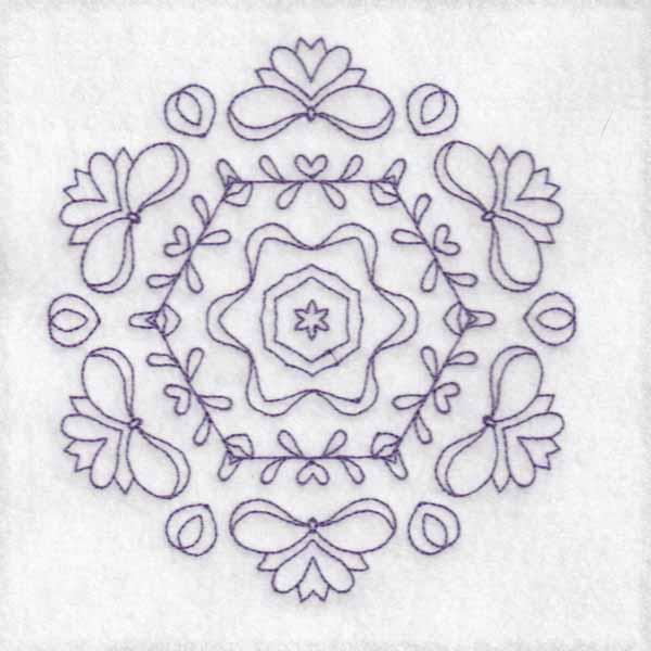 Daisy Hexagon Blocks -6