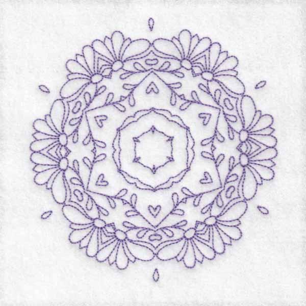 Daisy Hexagon Blocks -8