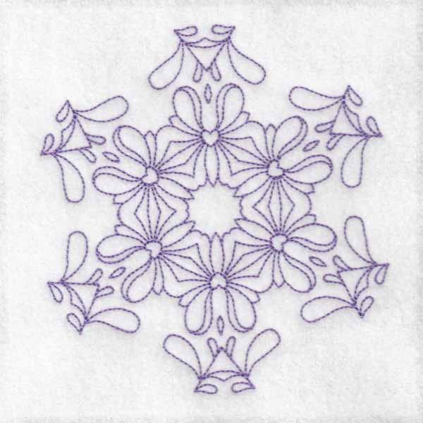 Daisy Hexagon Blocks -9