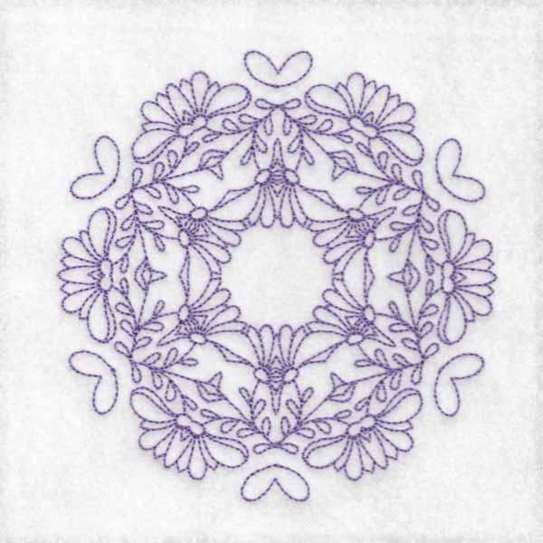 Daisy Hexagon Blocks -10