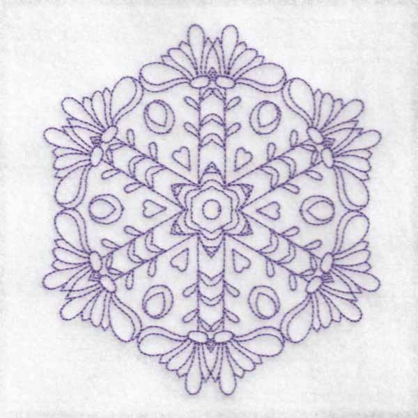 Daisy Hexagon Blocks -13