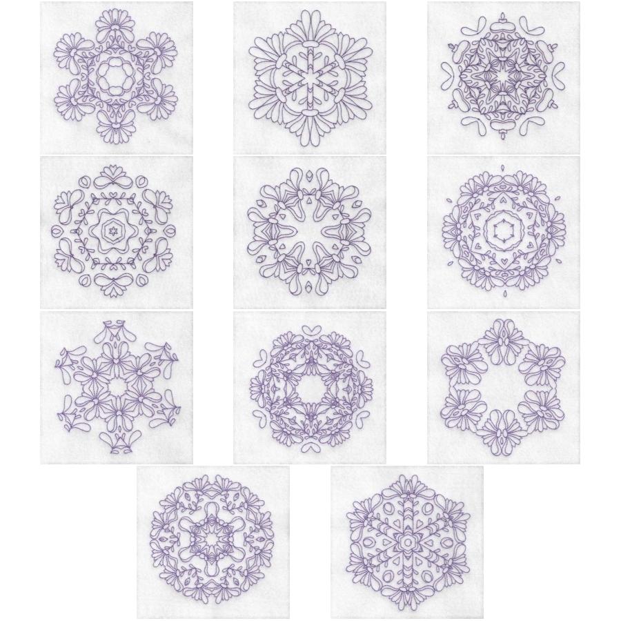 Daisy Hexagon Blocks