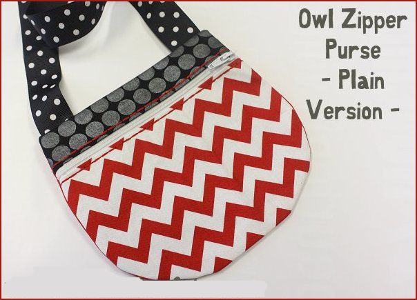 Owl Zipper Purse -4