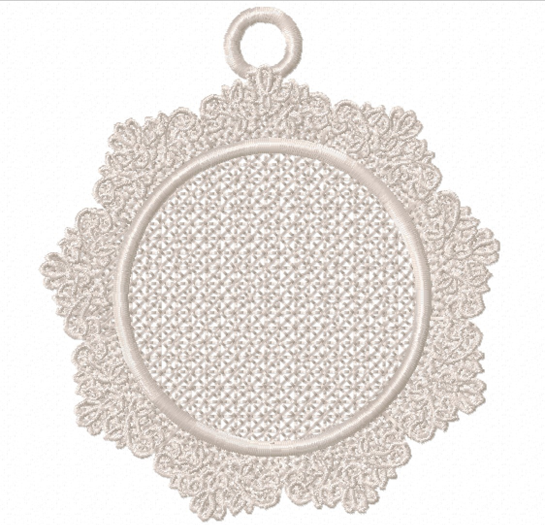 Freestanding Lace Trim & Medallion-4