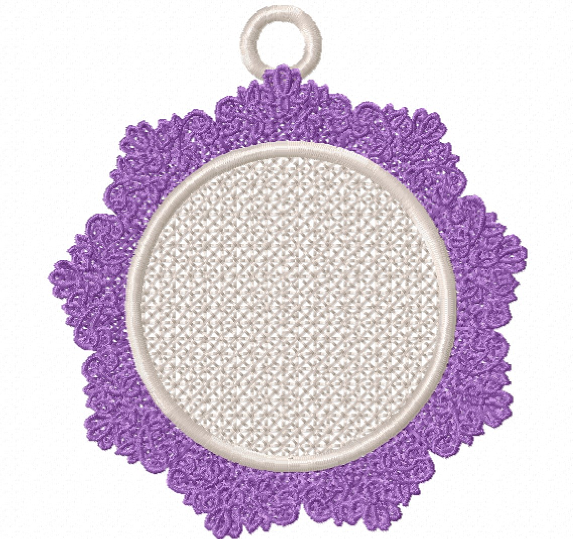 Freestanding Lace Trim & Medallion-5