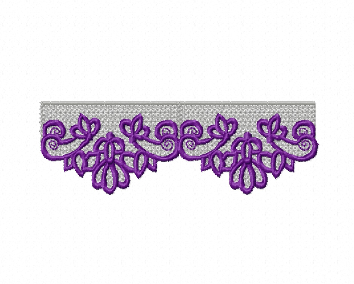 Freestanding Lace Trim & Medallion-11
