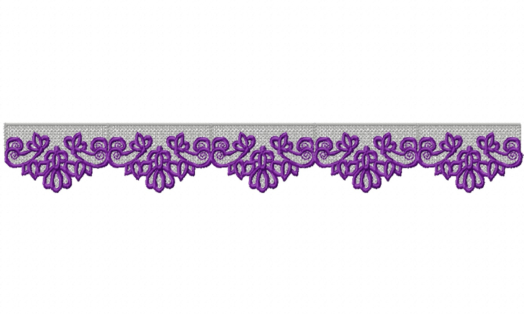 Freestanding Lace Trim & Medallion-13