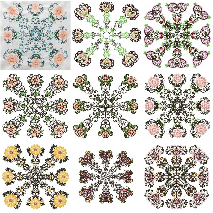 JUMBO Pretty Florals